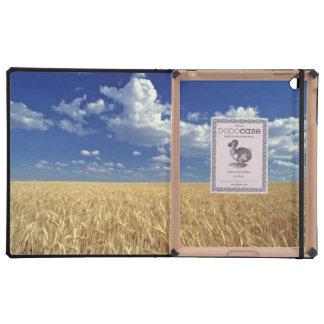 USA, Washington State, Colfax. Ripe wheat Case For iPad