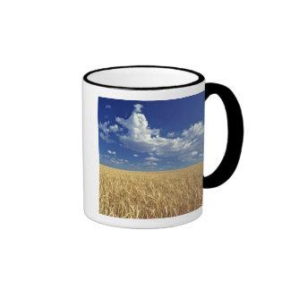 USA, Washington State, Colfax. Ripe wheat Ringer Coffee Mug