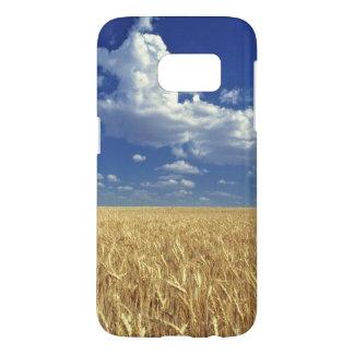 USA, Washington State, Colfax. Ripe wheat Samsung Galaxy S7 Case