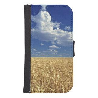 USA, Washington State, Colfax. Ripe wheat Wallet Phone Case For Samsung Galaxy S4