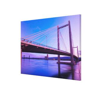 USA, Washington State. Columbia River is 2 Canvas Print