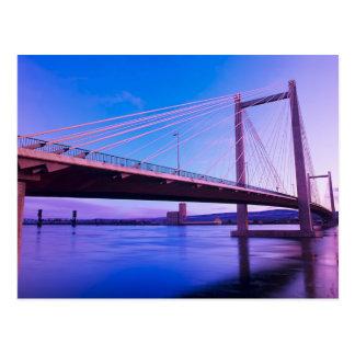 USA, Washington State. Columbia River is 2 Postcard