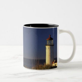 USA, Washington State, Fort Canby State Park. Two-Tone Coffee Mug