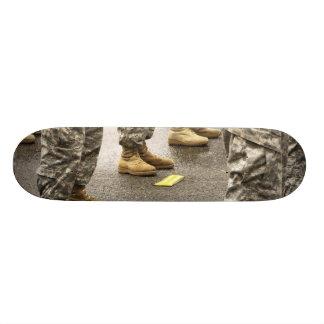 USA, Washington State, Issaquah, Salmon Day's Custom Skateboard