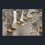 "USA, Washington State, Issaquah, Salmon Day&#39;s Placemat<br><div class=""desc"">USA,  Washington State,  Issaquah,  Salmon Day&#39;s Parade,  men in uniform detail | COPYRIGHT Savanah Stewart / DanitaDelimont.com</div>"