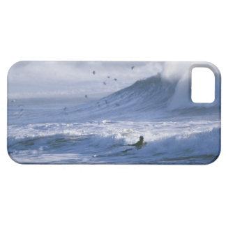 USA, Washington State, La Push. Man kayak iPhone SE/5/5s Case
