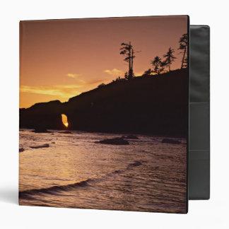 USA, Washington State, Olympic National Park. 2 3 Ring Binder