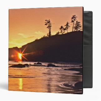 USA, Washington State, Olympic National Park. 3 Binder
