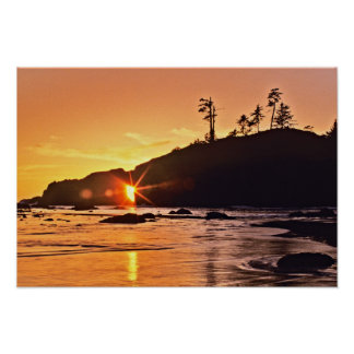 USA, Washington State, Olympic National Park. 3 Poster
