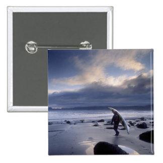 USA, Washington State, Olympic National Park. Pinback Button