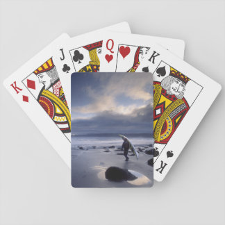 USA, Washington State, Olympic National Park. Poker Cards
