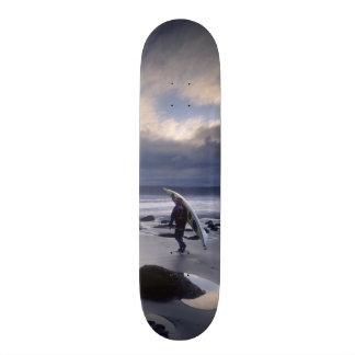 USA, Washington State, Olympic National Park. Skateboard
