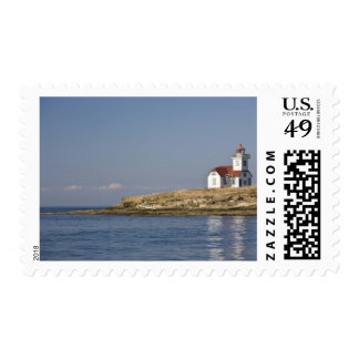 USA, Washington State, Patos Island. United Stamp