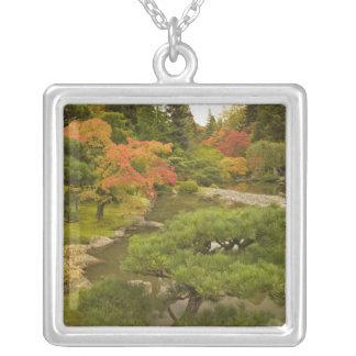 USA, Washington State, Seattle. Japanese Silver Plated Necklace