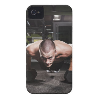 USA, Washington State, Seattle, Mid adult man Case-Mate iPhone 4 Cases