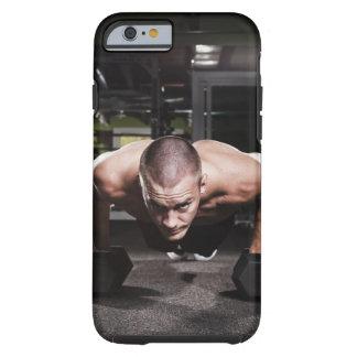USA, Washington State, Seattle, Mid adult man Tough iPhone 6 Case