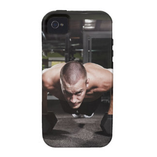USA, Washington State, Seattle, Mid adult man iPhone 4/4S Cases