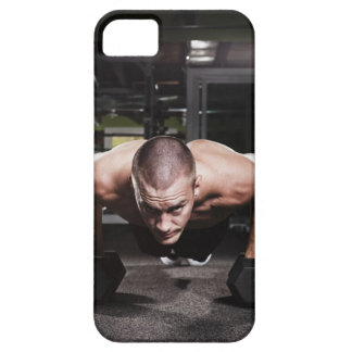 USA, Washington State, Seattle, Mid adult man iPhone 5 Case