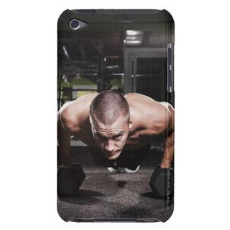 USA, Washington State, Seattle, Mid adult man iPod Touch Case