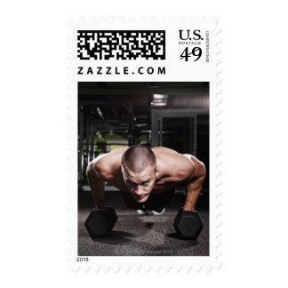 USA, Washington State, Seattle, Mid adult man Postage