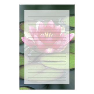 USA, Washington State, Seattle. Water lily and Stationery