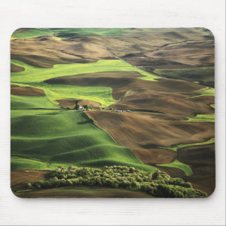 USA, Washington. View of Palouse farm country Mouse Pad