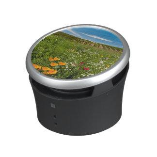 USA, Washington, Walla Walla. Wildflowers Bluetooth Speaker