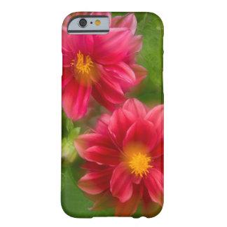 USA, Washington, Whidbey Island. Dahlia montage Barely There iPhone 6 Case