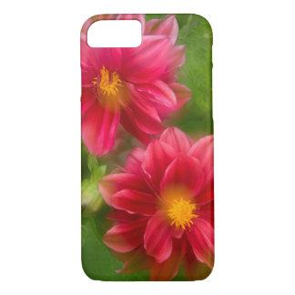 USA, Washington, Whidbey Island. Dahlia montage iPhone 8/7 Case