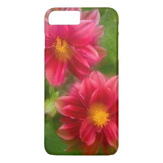USA, Washington, Whidbey Island. Dahlia montage iPhone 8 Plus/7 Plus Case