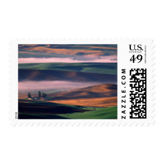 USA, Washington, Whitman County. Steptoe Butte Postage
