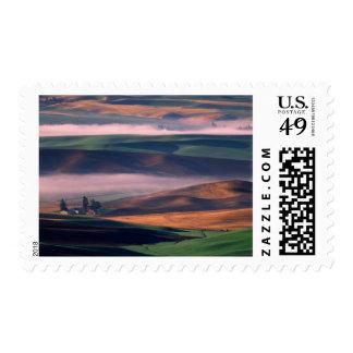 USA, Washington, Whitman County. Steptoe Butte Postage