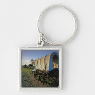 USA, Washington, Whitman Mission National Silver-Colored Square Keychain