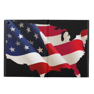 Usa wave flag cover for iPad air
