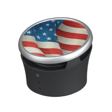 USA Themed USA Waving Flag Stars and Stripes Speaker