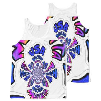 USA Wear Your Latest Style Hakuna Matata All-Over-Print Tank Top