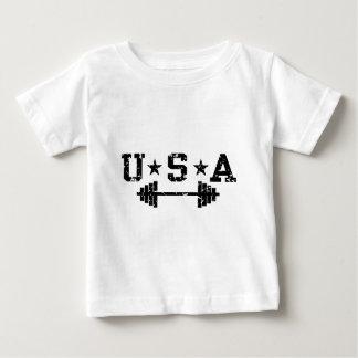 USA Weightlifting Baby T-Shirt