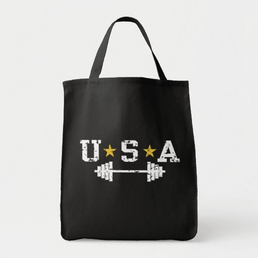 USA Weightlifting Canvas Bag