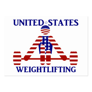 USA Weightlifting - Powerlifting Business Cards