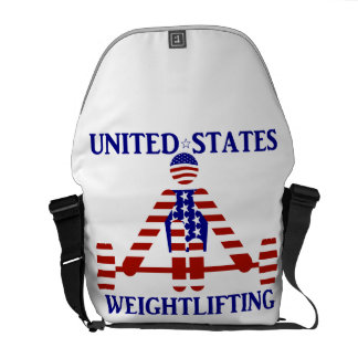 USA Weightlifting - Powerlifting Courier Bags
