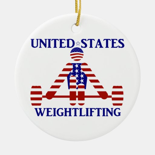 USA Weightlifting - Powerlifting Ornaments