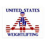 USA Weightlifting - Powerlifting Postcard