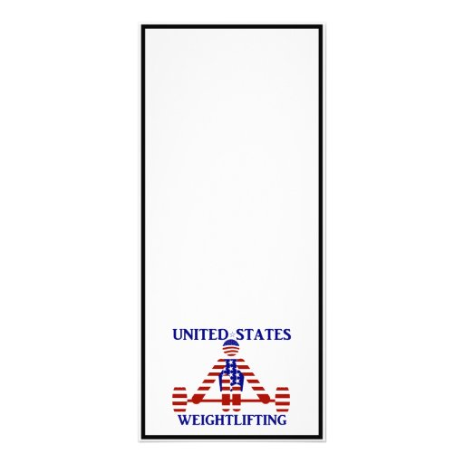 USA Weightlifting - Powerlifting Rack Card Template