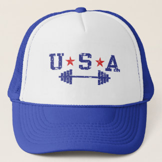 USA Weightlifting Trucker Hat