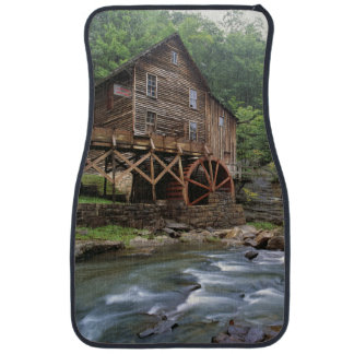 USA, West Virginia, Babcock SP. Rustic Glade Car Mat