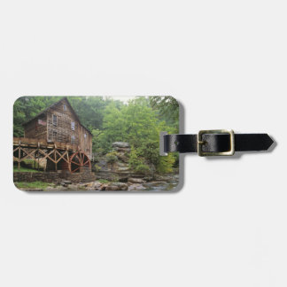 USA, West Virginia, Babcock SP. Rustic Glade Luggage Tag