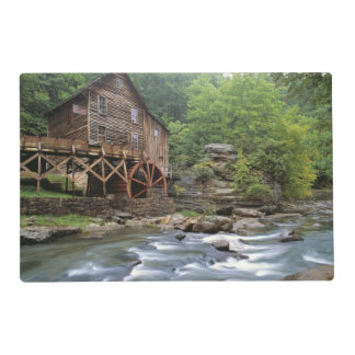 USA, West Virginia, Babcock SP. Rustic Glade Laminated Placemat