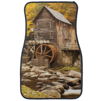 USA, West Virginia, Clifftop. Babcock State 2 Car Mat