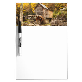 USA, West Virginia, Clifftop. Babcock State 2 Dry-Erase Boards