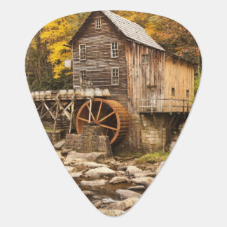 USA, West Virginia, Clifftop. Babcock State 2 Guitar Pick